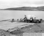 Construction of Boat Ramp at Panguitch Lake