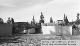 Pine Lake spillway bridge