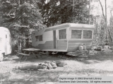 Trailers and campers at Duck Creek or Navajo Lake Campgrounds
