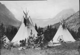 Blackfeet Indian Camp