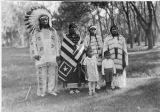 Chief Red Cloud and family