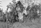 Unidentified men on horseback