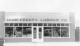 Commercial buildings, Iron County Lumber Company