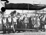 Main Street, ribbon cutting ceremony