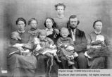 People, Ellen Pucell Unthank and family