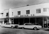 Commercial buildings, Cox Motor Company
