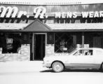 Commercial buildings, Mr. R. Men's Wear