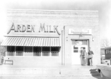 Commercial buildings, Arden Milk