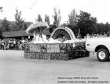 Parowan, float in parade