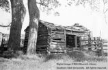 Johnson's Fort, old cabin