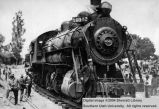 Transportation, first train and first boy into Cedar City