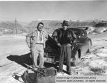Iron Springs mining superintendents, Al Giagar and Chris Mason