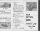 Iron Mission Park pamphlet