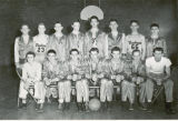 Cedar High School basketball team