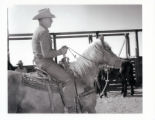 Milt Jolley on horse
