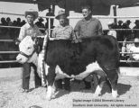 Steers, Grand Champion, 1957