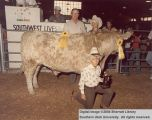 Steers, Reserve Champion, 1980