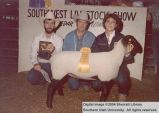 Sheep, Reserve Champion, 1985