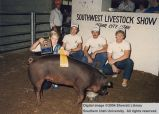 Hogs, Reserve Champion, 1986