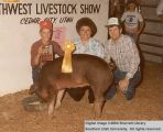 Hogs, Reserve Champion, 1983