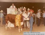 Steers, Grand Champion, 1976