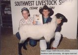 Lambs, Iron County Champion, 1988