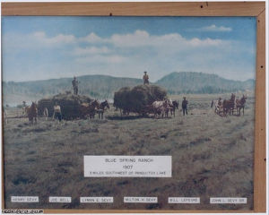 Blue Spring Ranch, 1907