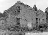 Ruins of Ebenezer Hanks' home; Old Irontown, Iron County, Utah