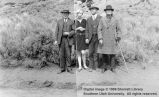 William R. Palmer, two men, and a woman; Cedar City, Iron County, Utah