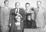Kate Vilate Isom Palmer, William Rees Palmer, and their four sons; Logan, Cache County, Utah