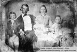 John Calvin Lazell Smith and family; Parowan, Iron County, Utah