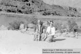 Scott Urie, Ruth Urie, and sons; Kanab, Kane County, Utah