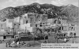 Indian pueblo; Taos, New Mexico