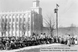 Dedication of temple home; St. George, Washington County, Utah