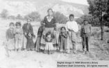 Woman with nine children; Moencopi, Arizona