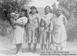 Five generations of Paiute women; Cedar City, Iron County, Utah