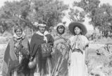 Jane Lehi, Annie Puthoie, Bessie Box, and Katie Deer; Allen Canyon, San Juan County, Utah
