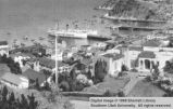 Avalon and bay; Catalina Island, California