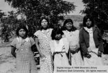 Group of Paiute women; Moccasin, Arizona