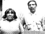 Mamie and John Mericats; Moccasin, Arizona