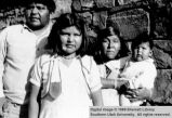 Levi John and family; Moccasin, Arizona
