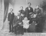 Samuel L. Gregory and family; Massey Settlement, Indian Territory, Oklahoma