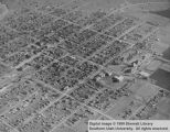 Aerial view of Cedar City; Cedar City, Utah