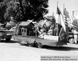 Presbyterian Church float, Utah Centennial Parade; Cedar City, Iron County, Utah