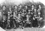 Early Cedar City Brass Band; Cedar City, Iron County, Utah