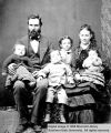 David Haight and family; Cedar City, Iron County, Utah