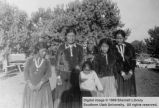 Three generations of women with a male child; Moencopi, Arizona