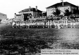 Marching drill team; Cedar City, Iron County, Utah