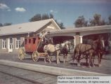 Coach at Cedar City Depot