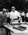 BBQ, dedication of Zion Visitor Center